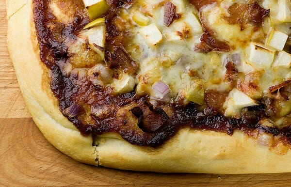 Apple Bacon Pizza