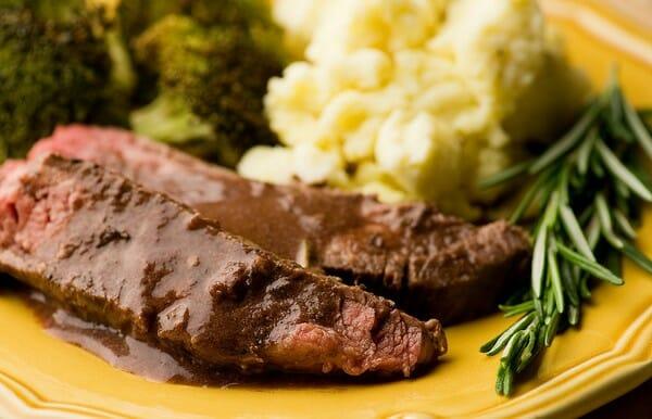 Rosemary Merlot Flank Steak