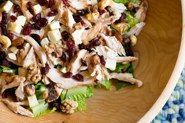 Image result for chicken salad cranberries
