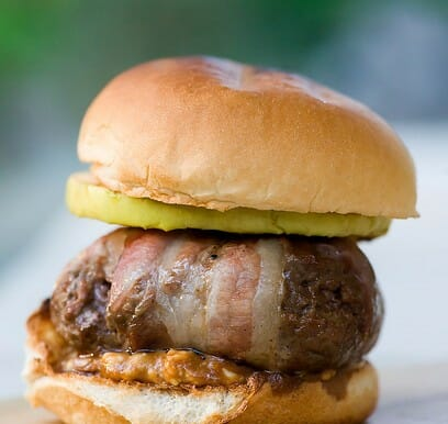Sheriff Stubb's Gorgonzola Burgers