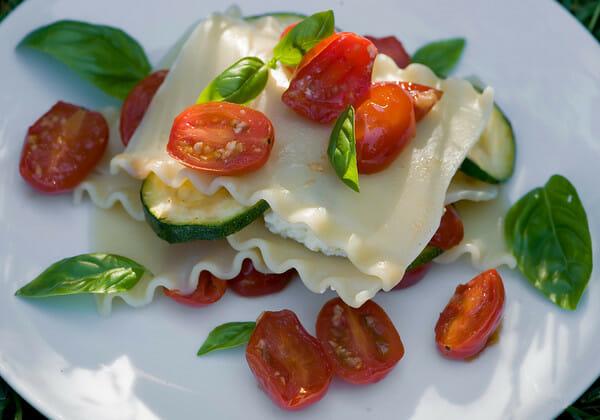 Summer Lasagne Recipe - Framed Cooks
