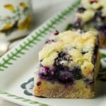 Blueberry Cobbler Bars