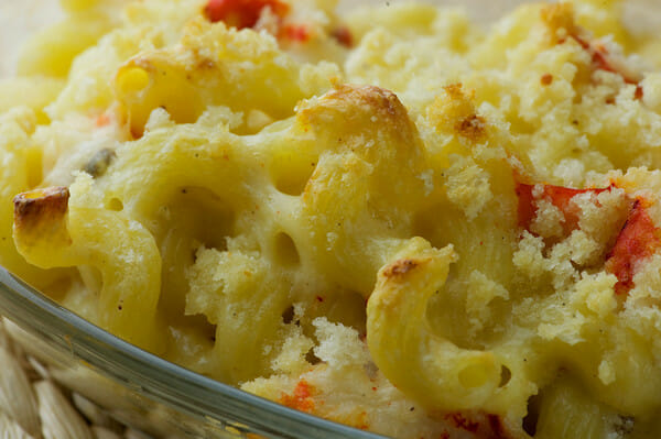 Lobster Mac And Cheese Ina Garten lobster macaroni and cheese - framed cooks