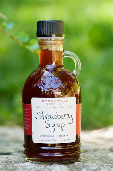 Stonewall Kitchen strawberry syrup