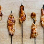 Honey Chicken Skewers