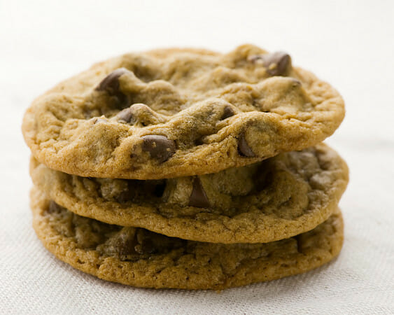 Molasses chocolate chunk cookies