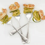 Marinated Shrimp with Cucumber Noodles
