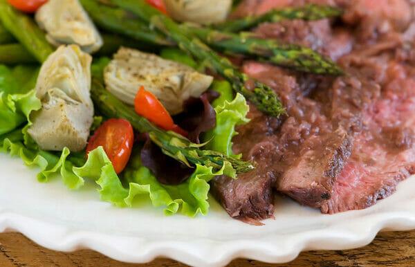 Grilled Rosemary Merlot Flank Steak