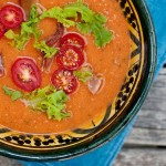 Spicy Chilled BLT Soup
