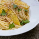 Pasta with Sweet Yellow Tomatoes