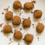 Chocolate Merlot Tarragon Truffles