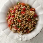 Farro Salad with Tomatoes and Herbs