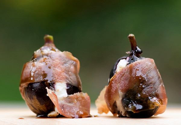 Grilled Figs with Goat Cheese and Prosciutto Recipe - Framed Cooks