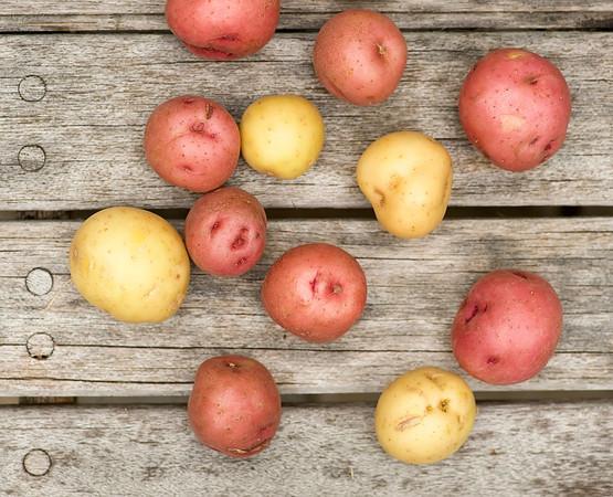 Salt and Vinegar Roasted Potatoes - Framed Cooks