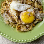 Brown Butter Pasta with Egg