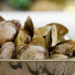 Grilled Clams with Lemon Ginger Butter