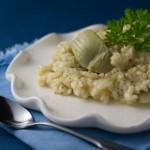 Artichoke Risotto with Taleggio Cheese