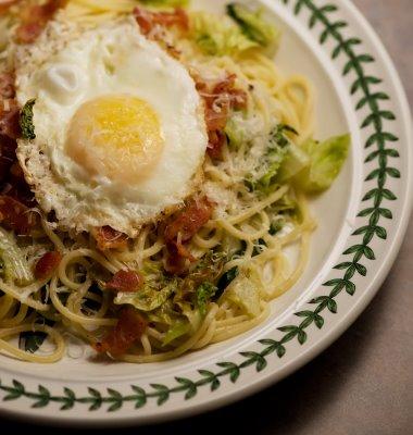 spaghetti+salad