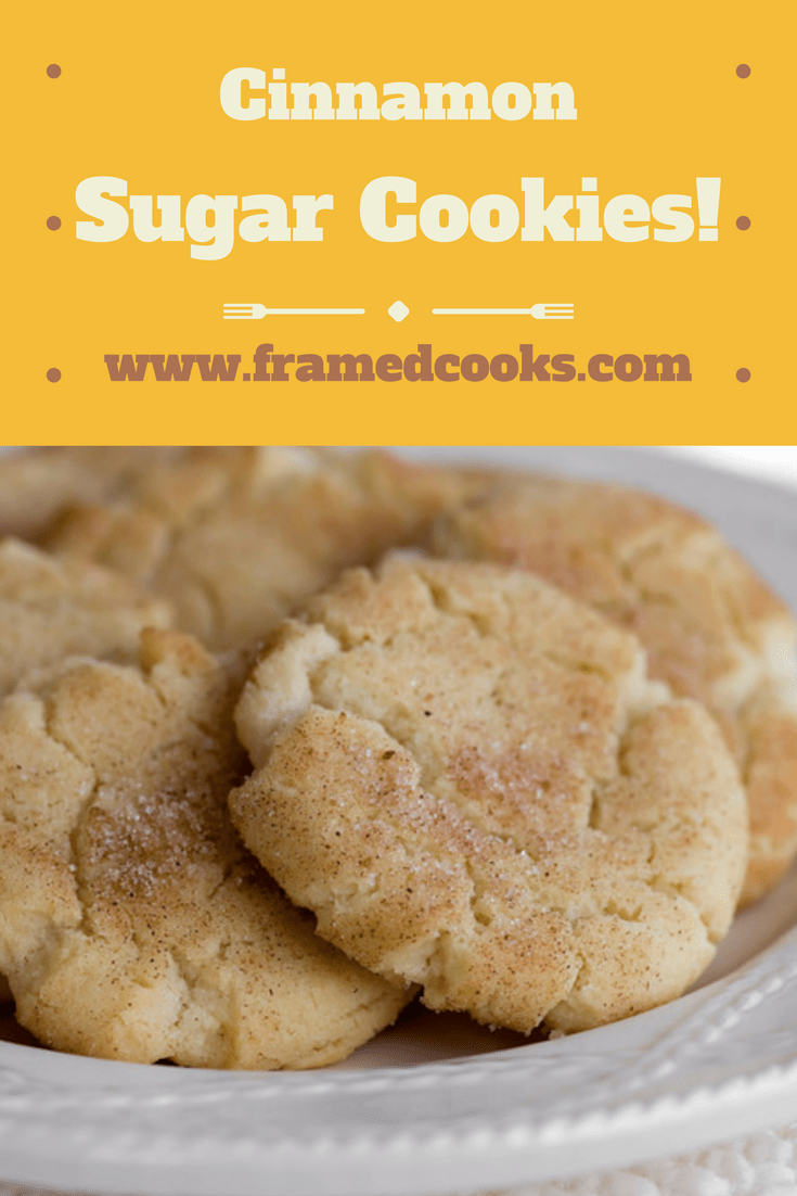 Cinnamon Sugar Cookies - Framed Cooks