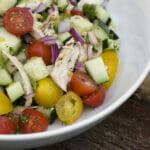 Gazpacho Chicken Salad