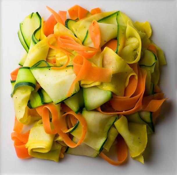 Summer Vegetable Ribbons Recipe | Framed Cooks