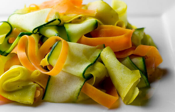 Summer Vegetable Ribbons