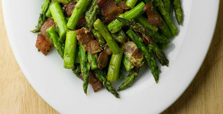 Mustard Bacon Asparagus