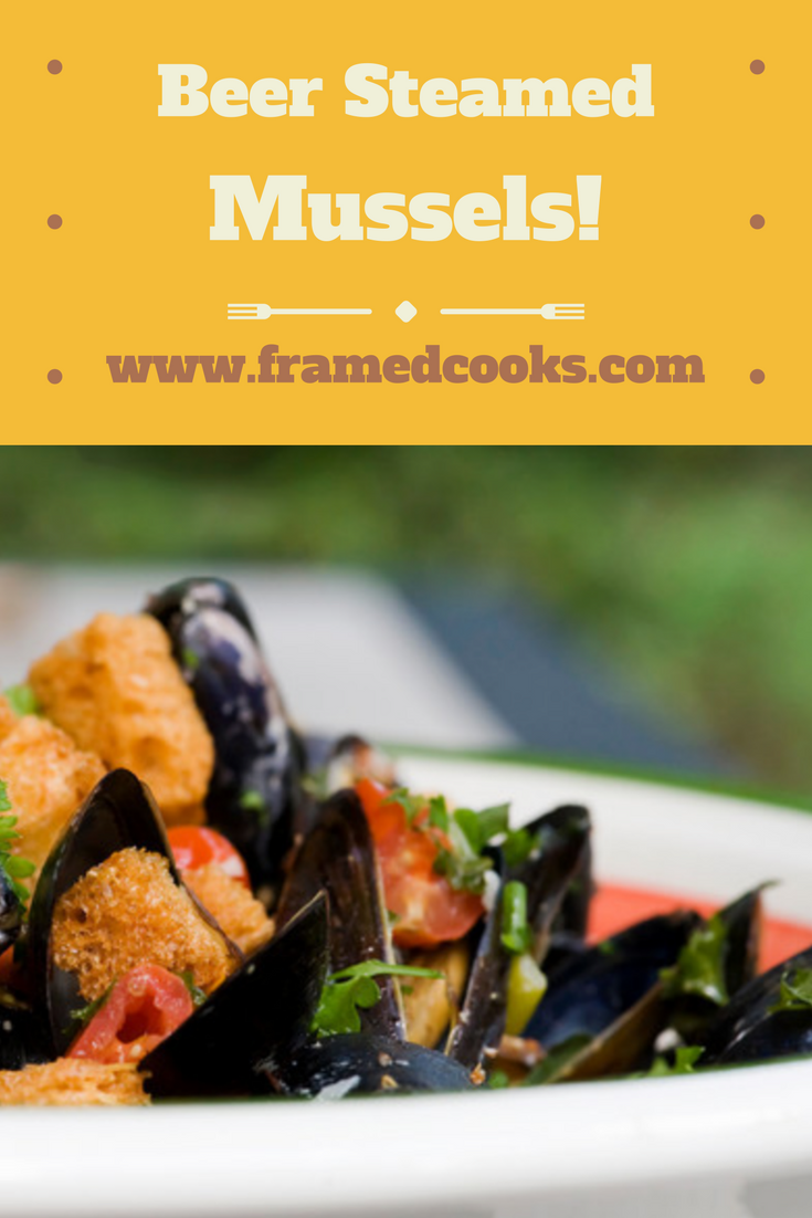 Parmesan croutons and fresh herbs turn mussels into the perfect summer supper!