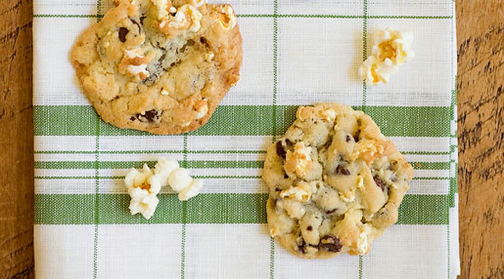 popcorn cookies