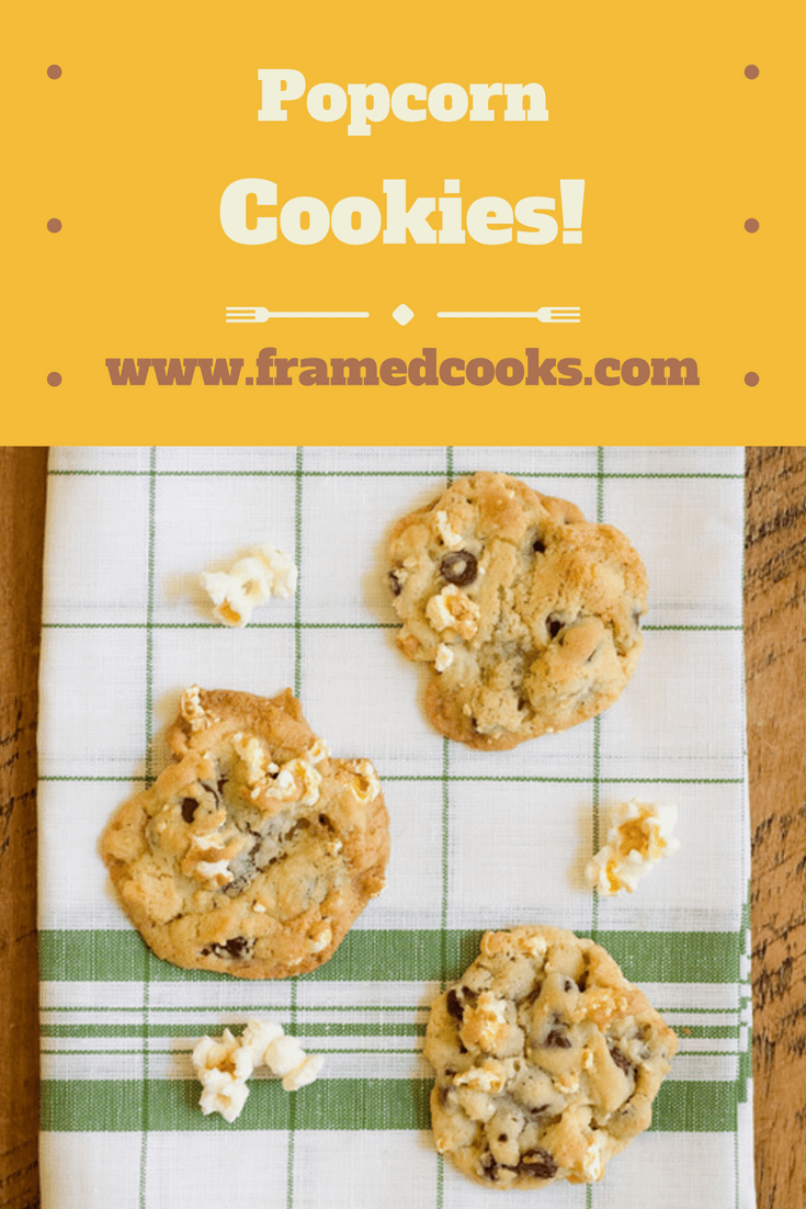 Adding a little popcorn to chocolate chip cookies is a whole new wonderful twist on sweet and salty! Try it with this easy recipe for popcorn cookies.