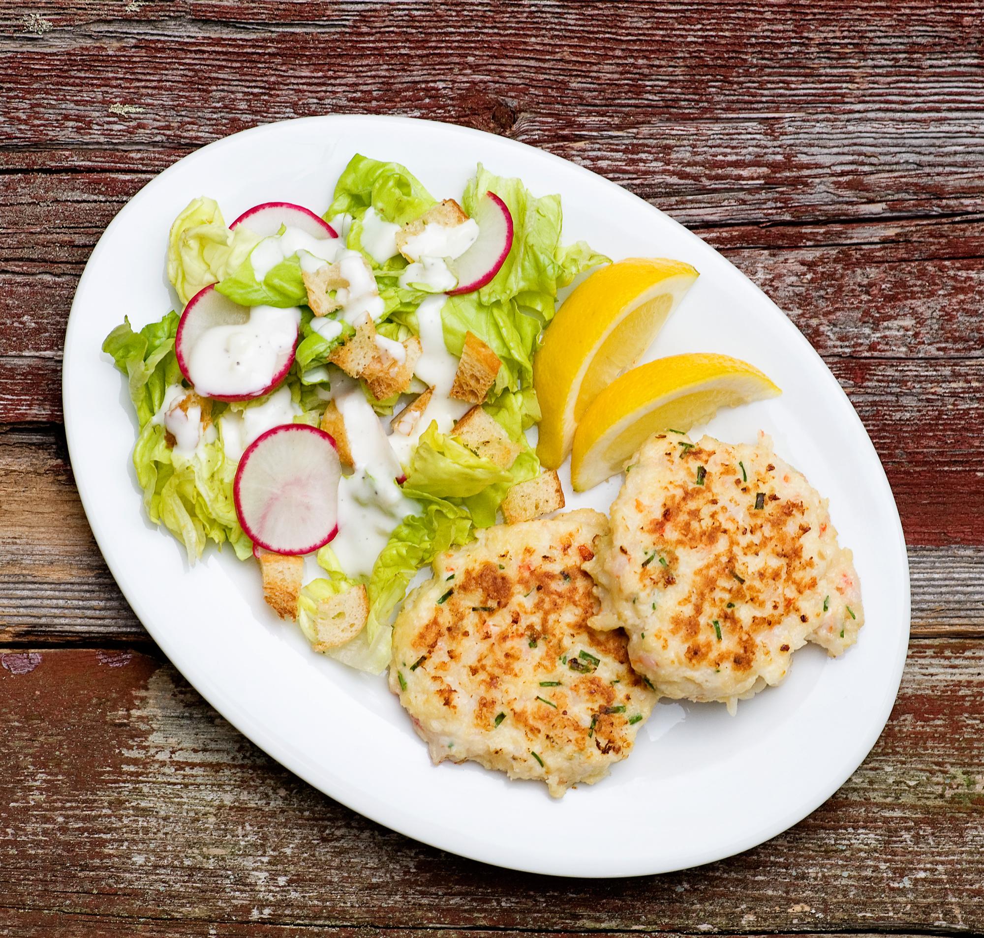 crispy shrimp cakes