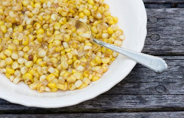 Buttered Skillet Corn