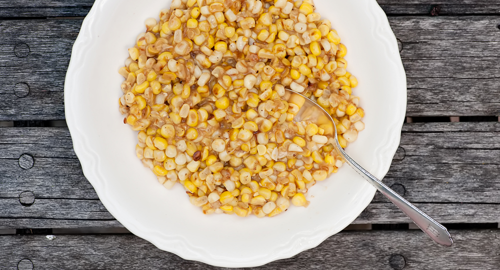 easy buttered skillet corn