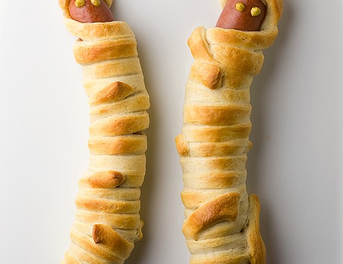 Hot Dog Mummies!