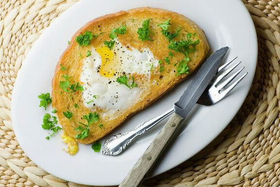 Fancy Egg In A Hole
