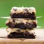 Cookie Dough-Topped Brownies