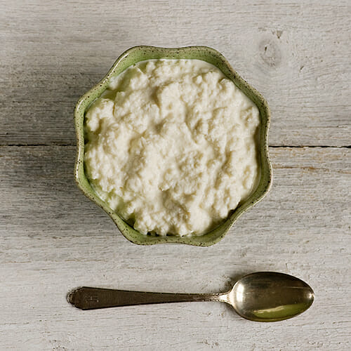 Easy Homemade Cottage Cheese! - Framed Cooks