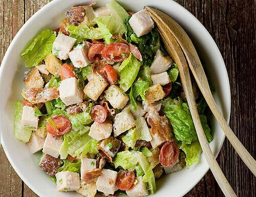 Turkey Club Sandwich Salad