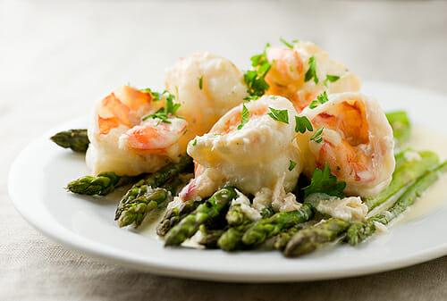 Creamy Chardonnay Shrimp - Framed Cooks