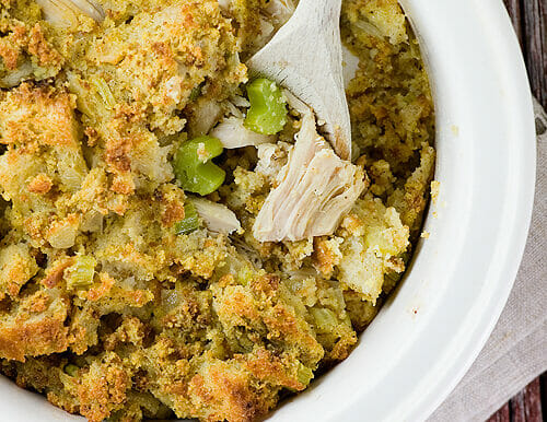 Sunday Chicken and Stuffing Bake
