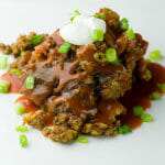 Slow Cooked Mexican Meatloaf