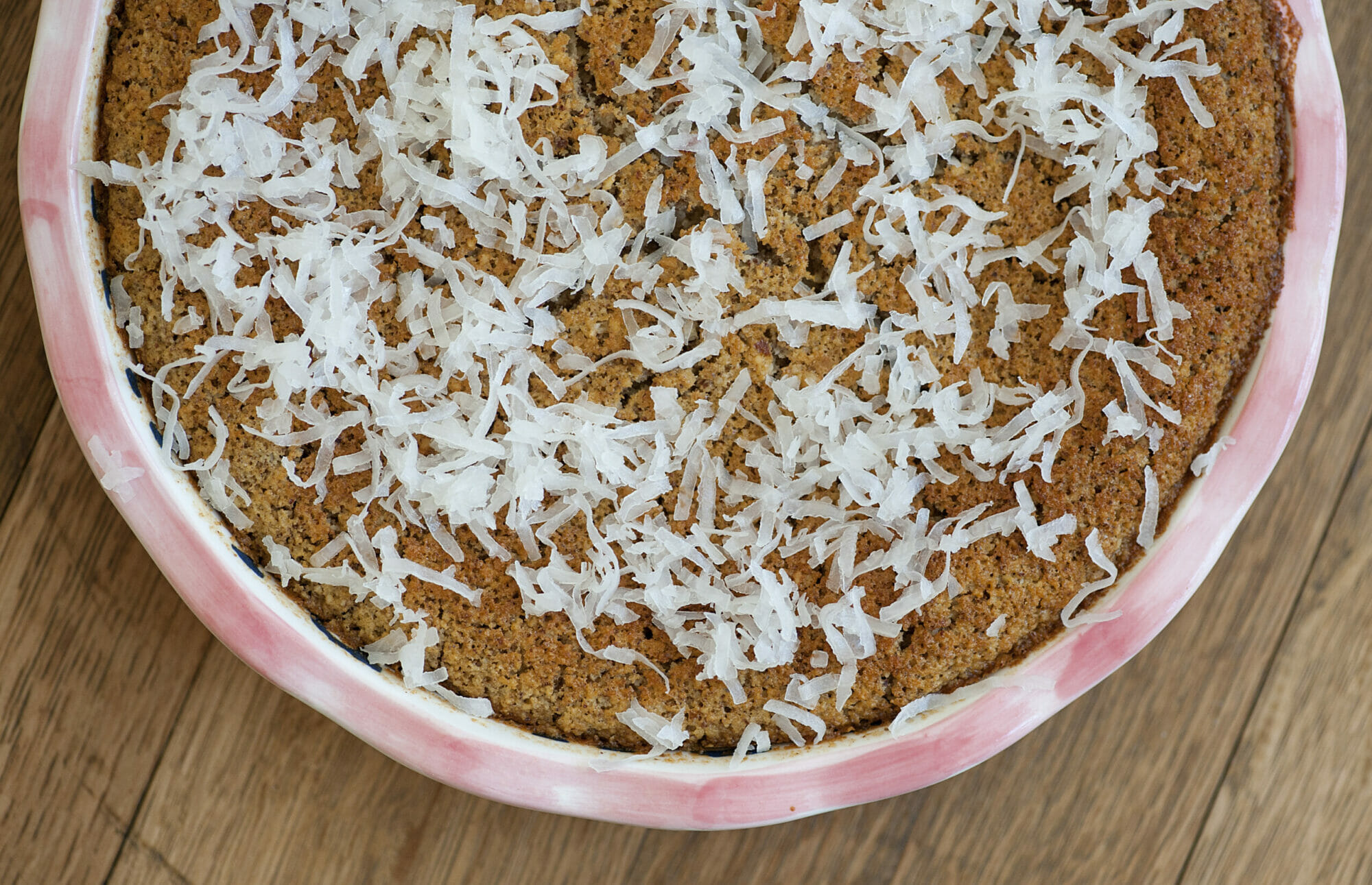 coconut blender cake