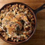 Skillet Chicken with Herb Dressing