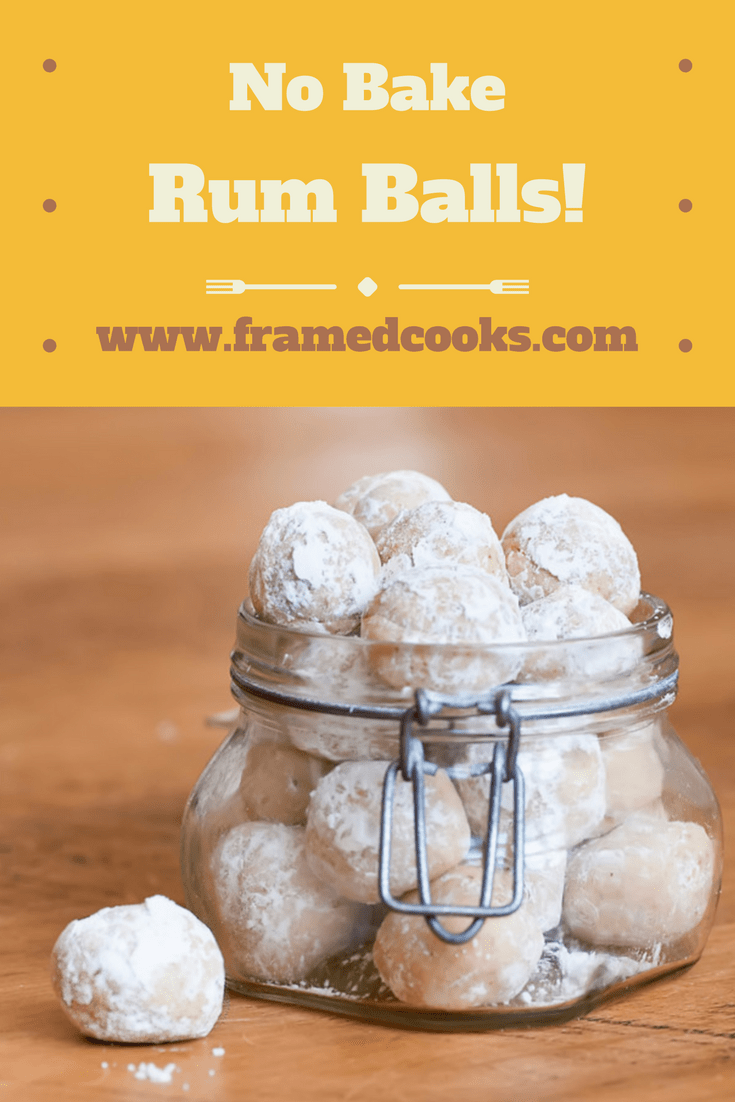 These delicious no bake rum balls cookies require exactly no baking...and bet you can't eat just one! Perfect for the holidays or any time.