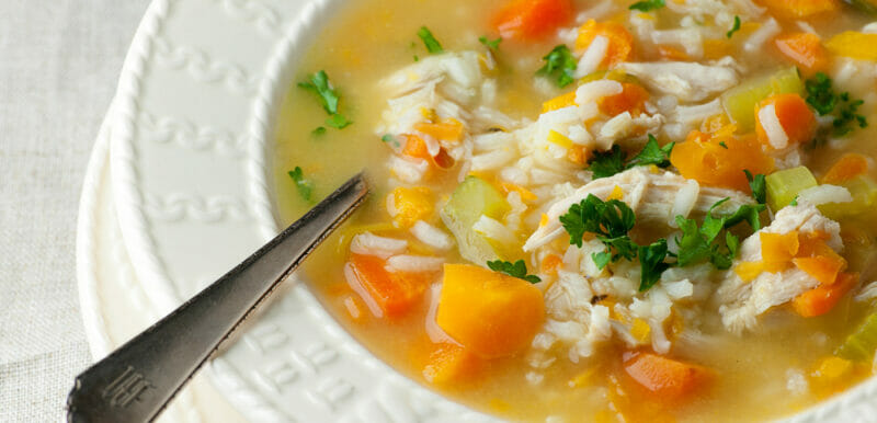 Chicken Soup With Rice!