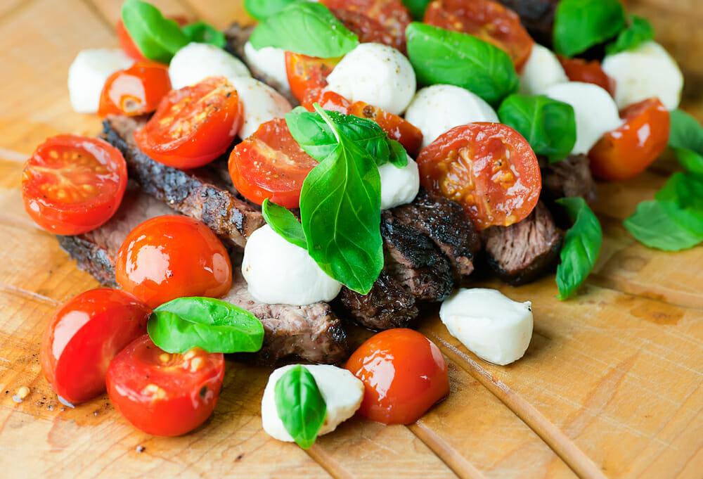 Tuna And Ham Rolls With Tomato Pepper Relish Recipes — Dishmaps