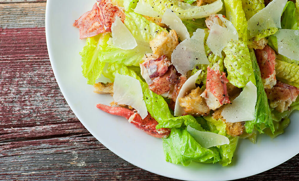 lobster caesar salad recipe