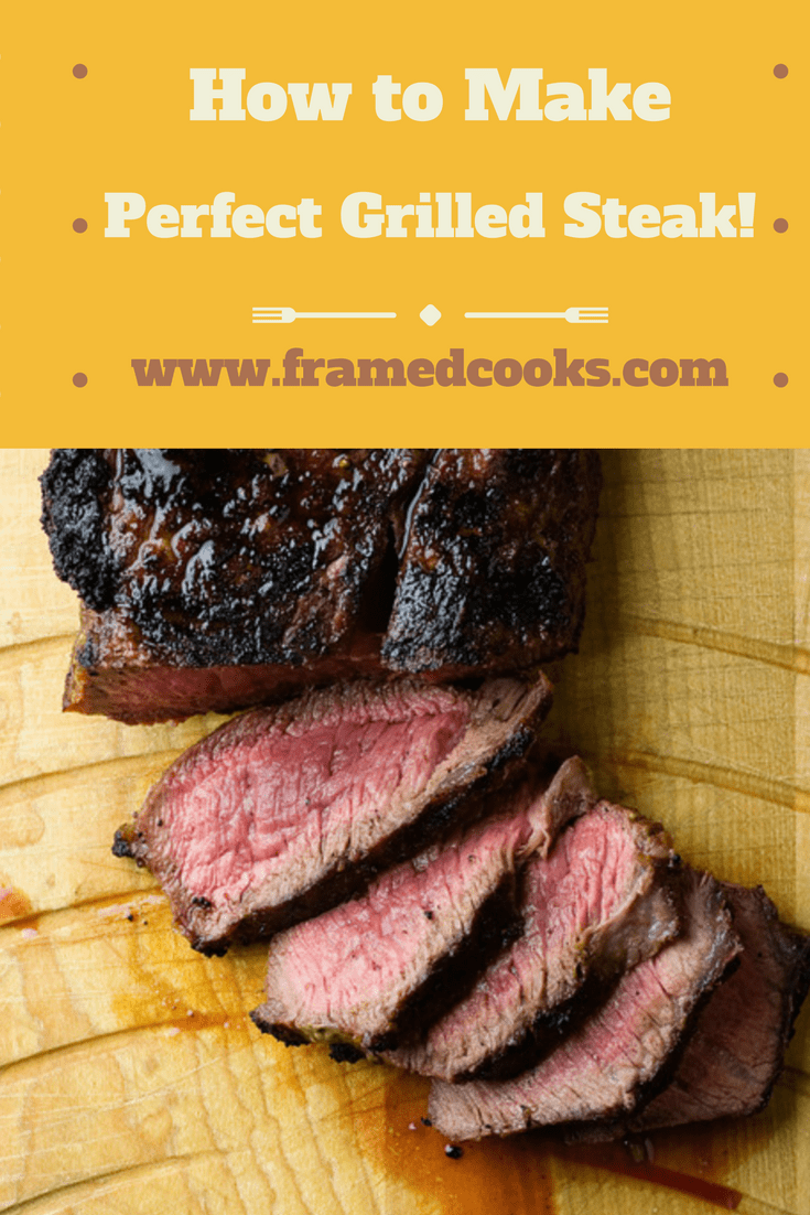 How To Make Perfect Grilled Steak: The key to perfect, crusty on the outside, juicy on the inside grilled steak is right in your pantry...and your freezer!