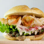 Surf and Turf Burgers!