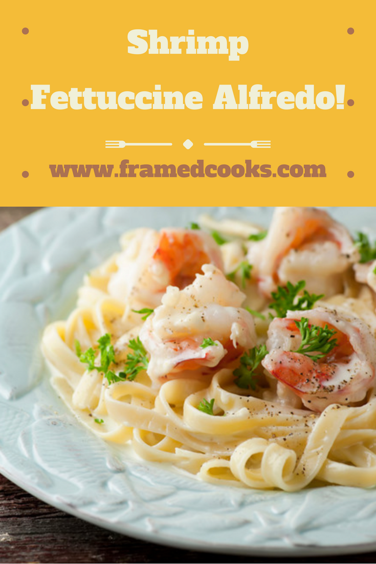 Kick your fettuccine alfredo up a notch by adding tender and tasty shrimp to the mix with this easy recipe!
